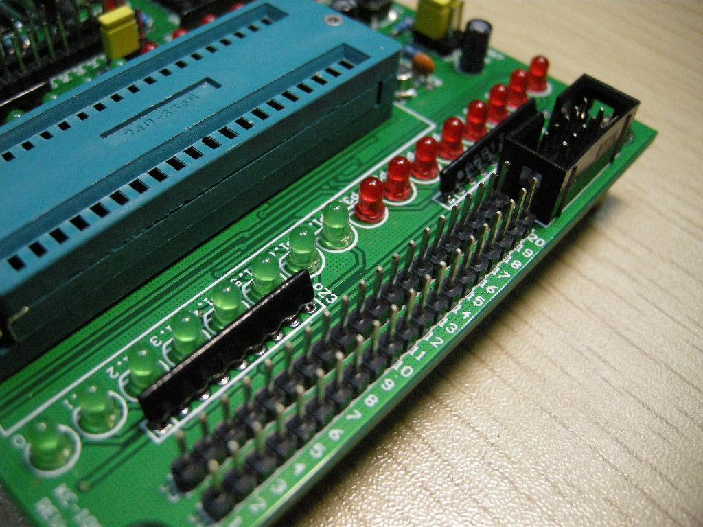 AVR单片机对外部RAM的扩展