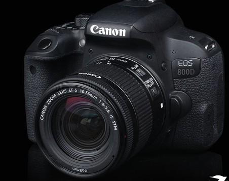 佳能EOS 800D单反相机搭载2420万像素触控屏可以像操作手机一样操控