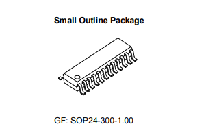 MBI5024 LED显示面板驱动芯片的数据手册免费下载