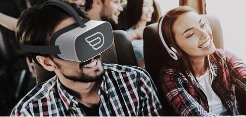 美国将推出世界首个长途大巴VR体验 让旅客的长途车程不再无聊