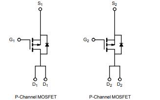 Si4953ADY双P沟道MOSFET电源芯片资料免费下载