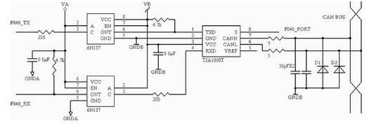C8051F040单片机智能节点通信设计