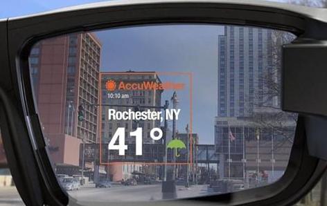 Vuzix宣布为其AR眼镜Vuzix Blade增添天气预报功能