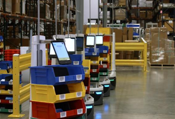 仓库和物流产业需求在不断扩张 给机器人创造了巨大的市场机遇