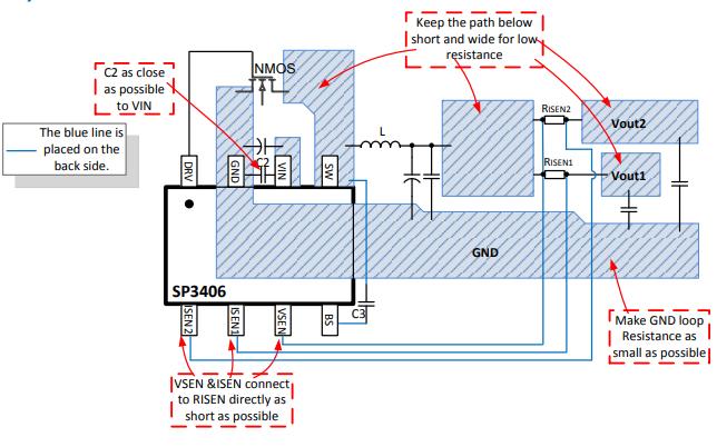 SP3406输入电压降压DCDC转换器的数据手册免费下载