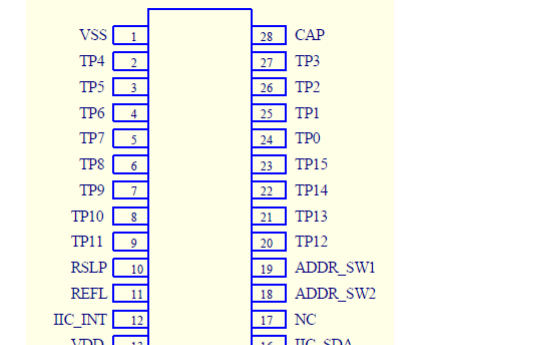 VK3816IP 16感应通道高抗干扰的触摸芯片的数据手册免费下载