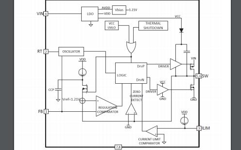 HX1304F宽范围同步降压控制器的数据手册免费下载
