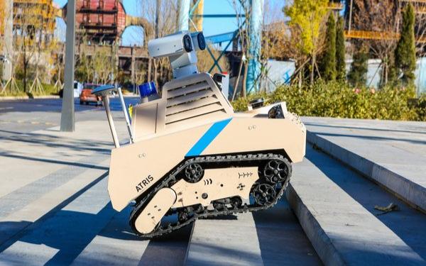 北京首钢园区选择优必选全地形巡逻机器人提供安全服务