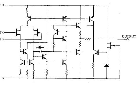 NJM072B和NJM082B及NJM072和NJM082双JFET输入运算放大器数据手册