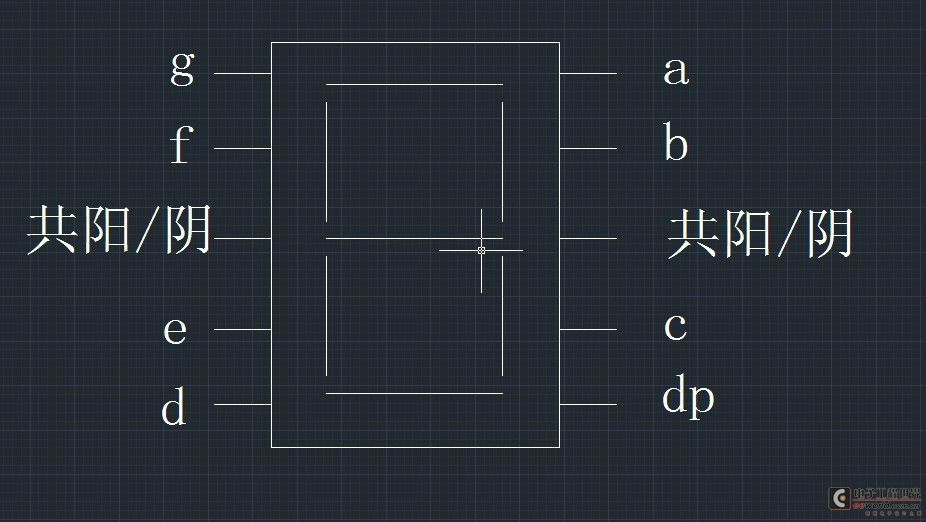 51单片机对8位数码管依次显示0-7的设计