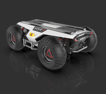 松灵机器人开发全能型户外通用AGV?#30528;?目前已进...