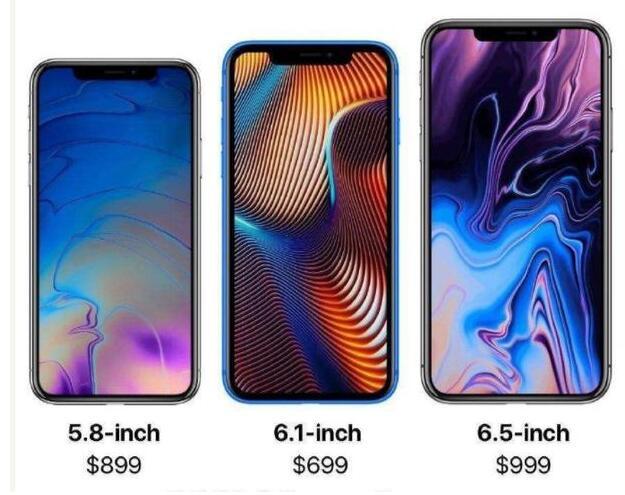 2019年新iphone曝光
