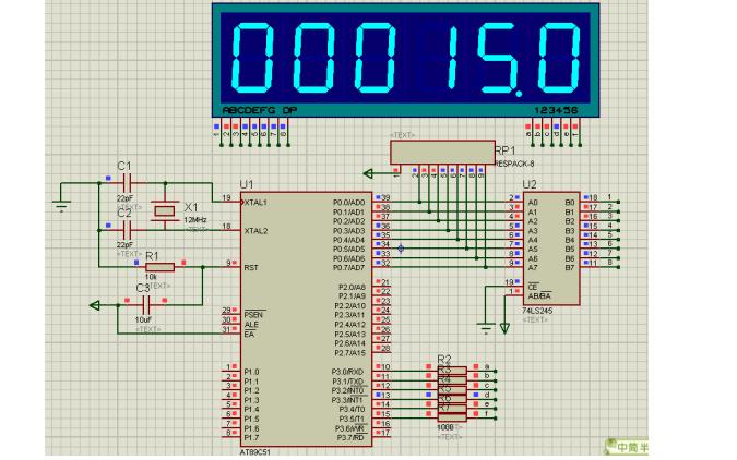 单片机应用实例之100000s以内的计时程序和电路图