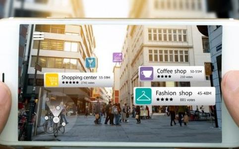 在手机商业应用层面 AR功能未来可拓展的空间非常...