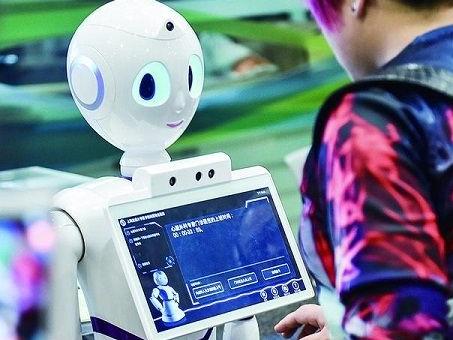 内蒙古首例导诊机器人正式上岗 提升患者的就医感受