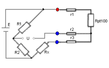 PT100溫度傳感器三根芯線如何連接詳細接法說明