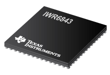 IWR6843 集成有处理功能的 60GHz 至...