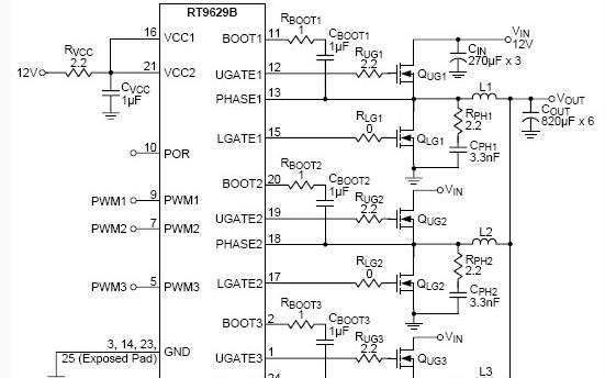 如何分析这个电路及主芯片关键参数指标?