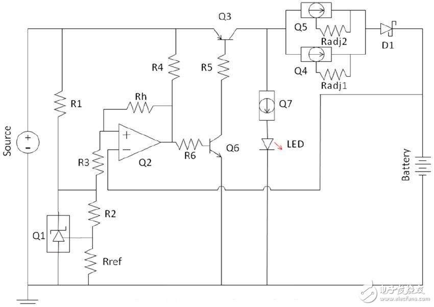 简单易制的多功能充电电路,Battery cha...