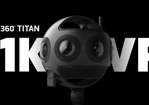 全球率先采用MFT传感器的8目VR摄影机Titan开启全球预售