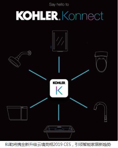 科勒在智能家居领域的探索与创新从未止步