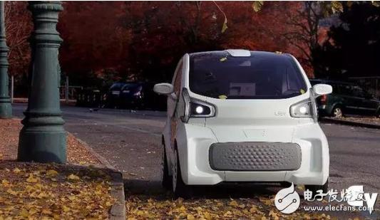 世界上第一款量产3D打印电动汽车LSEV亮相 起售价预计在5元人民币左右