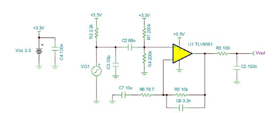 Design microphone circuit with the industry's smallest operational amplifier