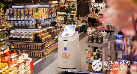 我国服务机器人在零售场景可以批量化应用