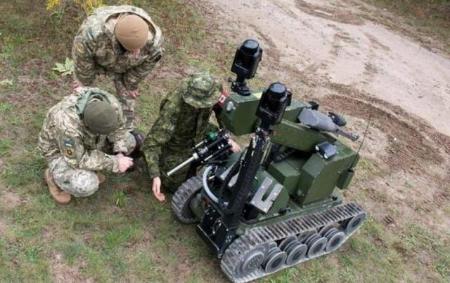 美军前线部署军用机器人 比俄军装备强太多