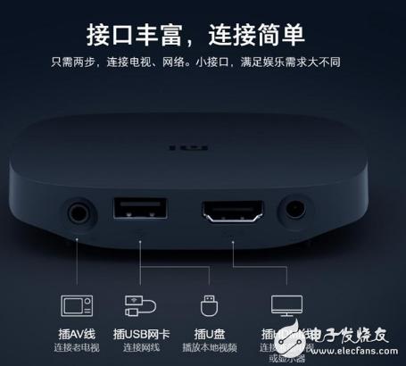 小米推出盒子4SE套装版 内含小米高清数据线