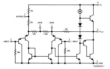 LM386功率放大器的数据手册免费下载