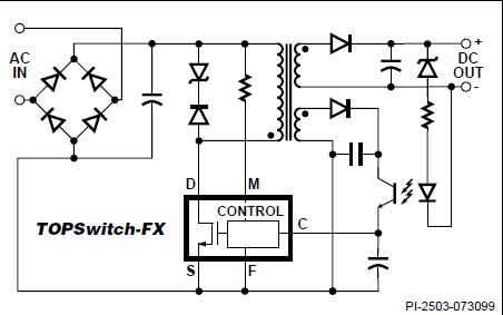 TOP232-234 TOPSwitch-FX系列开关电源芯片数据手册免费下载