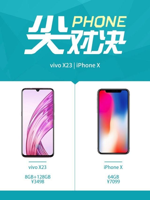 vivoX23和iPhoneX哪个拍照最好