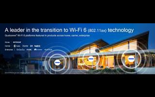 伴随行业向Wi-Fi 6long88.vip龙8国际迈进 Qualcom...