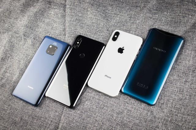 四大旗舰手机定位比拼