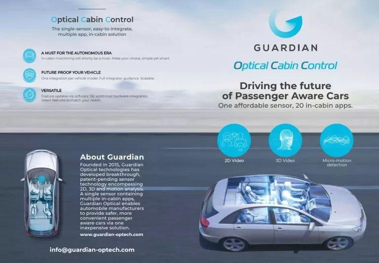 亚博以色列的Guardian Optical公司公布了一项新技术