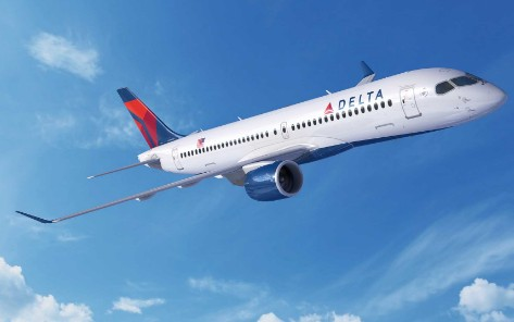 达美航空购新一代高效率空客A220飞机的订单总数...