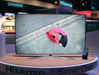 CES 2019:海信推出最薄电视一体机 创维展示全球首款88英寸OLED电视