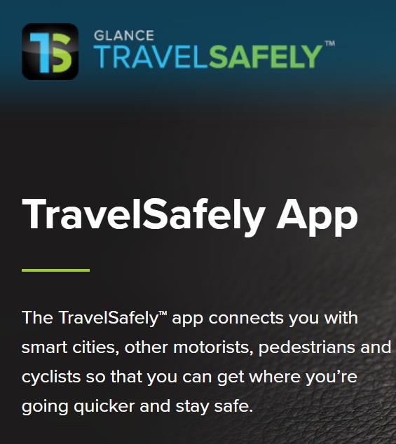 Applied Information的V2N技术通过其免费的Travelsafely智能手机应用程序连接实现