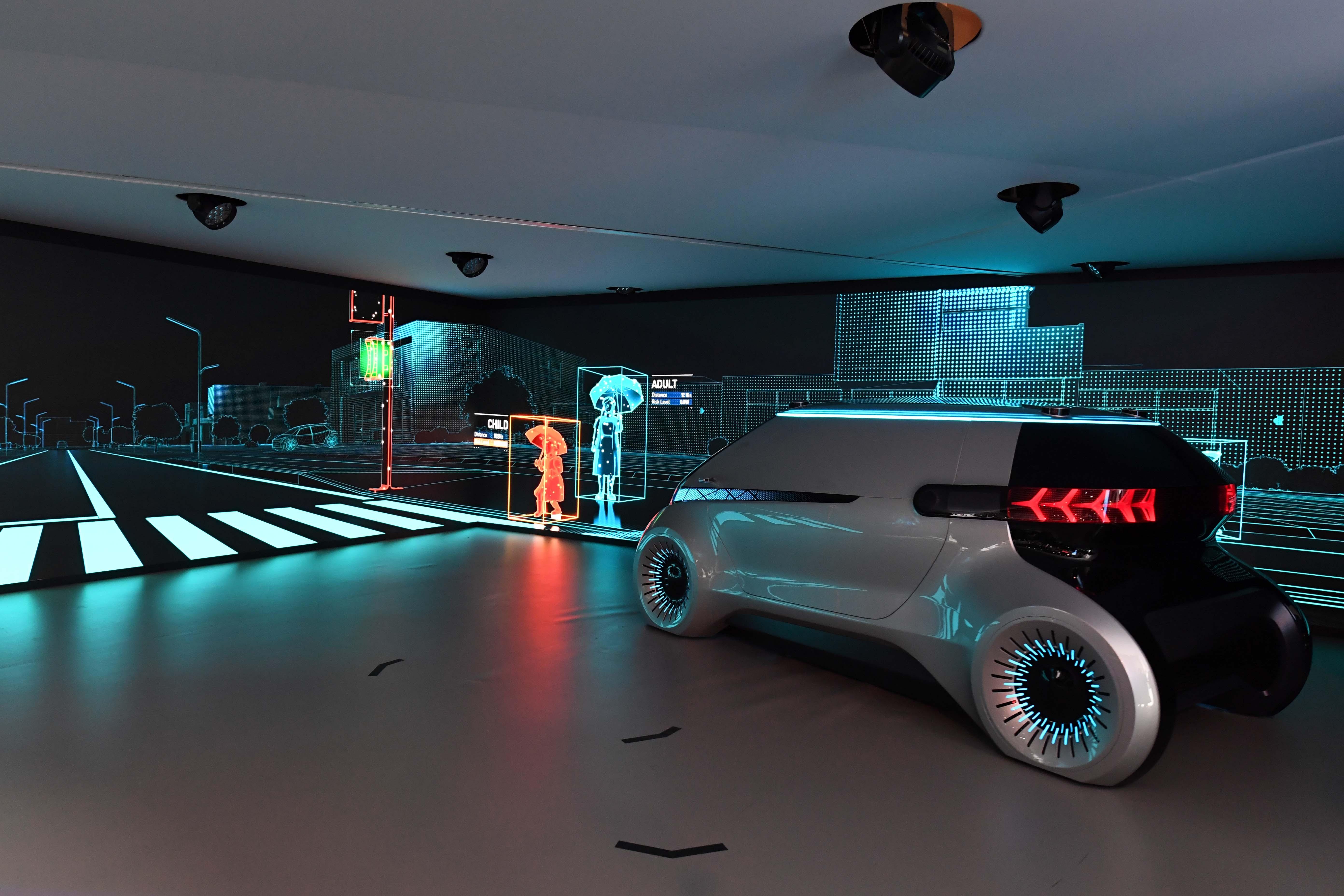 HYUNDAI MOBIS的通信照明概念赋予车灯更多的安全功能