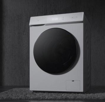 小米推出了洗烘一体机功能强大具有10Kg洗涤和6Kg烘干能力