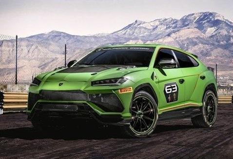 兰博基尼打造一款准赛事级SUV 预计到2020年初次亮相