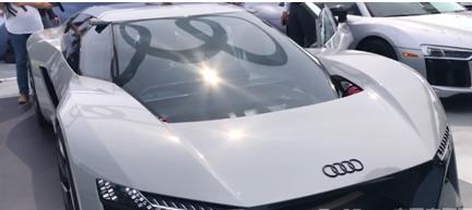 奥迪纯电动超跑PB18 e-tron概念车未来有望搭载L3~L5级别自动驾驶技术