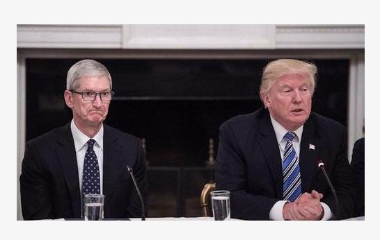 特朗普:就任总统后苹果股价翻了好几倍,跌这点没事