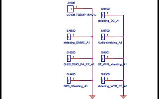 小米5的电路原理图和原件分布图