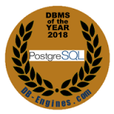 PostgreSQL为2018年度数据库管理系统