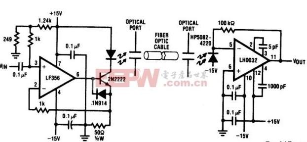 实用性光纤LED驱动电路的龙8国际娱乐网站及原理