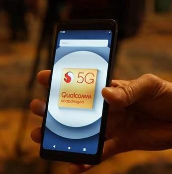 2019年推出的几乎所有5G手机设备都会基于高通...