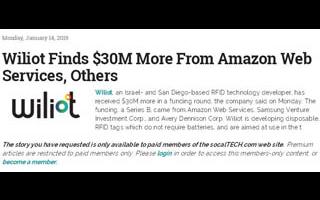 3000万美元B轮融资!亚马逊再投一家芯片公司