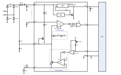 HT45B0003和HT45B0005两线式高压收发器的数据手册免费下载